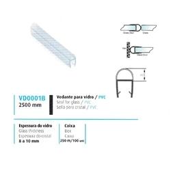 VEDANTE P/ VIDRO/PVC 8/10MM - 708VD0001B