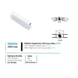 VEDANTE MAGNÉTICO 180º VIDRO/PVC 8/10MM - 708VD0006