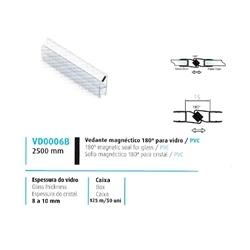 VEDANTE MAGNÉTICO 180º VIDRO/PVC 8/10MM - 708VD0006B