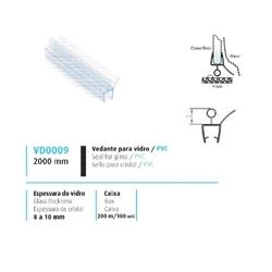 VEDANTE P/ VIDRO/PVC 8/10MM - 708VD0009