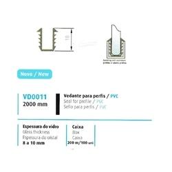 VEDANTE P/ PERFIL/PVC 8/10MM - 708VD0011
