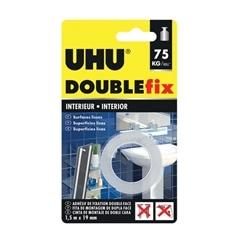 UHU DOUBLEfix Interiores - Fita 1,5m x 19mm 44855 - 560176044855