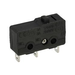 Microswitch miniatura sem patilha SPDT 250V 3A