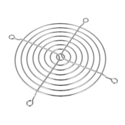 Grelha metálica 120x120 mm CROMADO