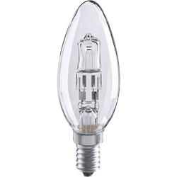 LAMPADA CHAMA HALOGENEO B35 E14 18W CL - 0506033062154
