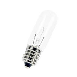 LAMPADA INCANDESCENTE E5038 7/10W 220V E14 Ø17X48mm