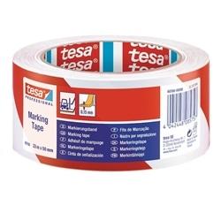 TESAFLEX 60760, ROLO DE FITA ADESIVA PVC 33MX50MM BR/VERM - 60760-00088-01