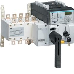 Invers. cmdo motorizado c/relé 4P 125A - HIC412