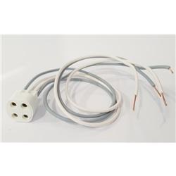 Suporte G10q fixação parafuso p/ lâmp. fluor. circulares - 512111100