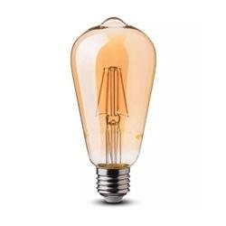 Lamp/ST64/Ambar/E27/6w/60W/500Lm/2200K/V-TAC-4362 - 8954362