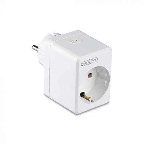Adaptador 2P+T C/USB WI-FI 63x45x30 V-TAC 8416 - 8958416