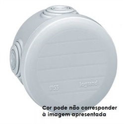 CX.PLEXO REDONDA 70MM - BRANCO 092003 - 092003