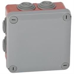 CX.PLEXO 105X105X55 -CINZ/VERM 092025