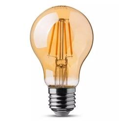 LAMPADA LED 6W FILAM.AMBAR A60 E27 2200ºK SAMSUNG V-TAC 286