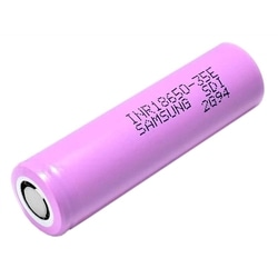 Bateria Li-Ion MR18650 3.6V 3500mAh Samsung INR18650-35E - INR18650-35E