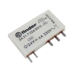 Relé SPDT 24VDC FINDER 34.51.7.024.0010 - 345170240010