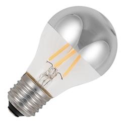 LAMPADA LED 4W A60 E27 350LM CALOTE ESPELHADA SILVER - 038031942