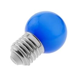 LAMPADA LED P45 E27 1W AZUL