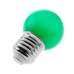 LAMPADA LED P45 E27 1W VERDE - 570038034509