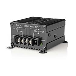 Conversor 24VDC para 12VDC 10A 120W HQ-CONV.DC10A POCO103 - 500POCO103