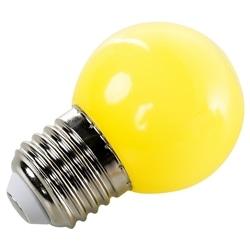 LAMPADA LED P45 E27 1W AMARELO