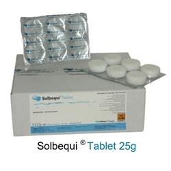 Pastilhas Limpeza Desinfecção Solbequi 25gr Tablets - 8886696669584