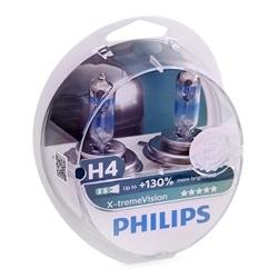 Philips Xtreme Vision +130% H4 12v 60/55w [Emb 2] 12342XV+S2 - 12342XV+S2