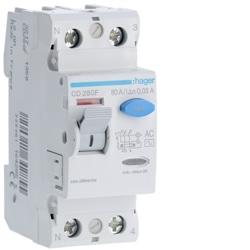 INTER. DIF. 2P 80A 30MA TIPO AC 2M CD280F - CD280F