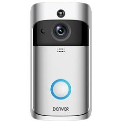 Video Porteiro Wi-Fi c/ Alarme Sensor PIR DENVER VDB-110 - 500-VDB-110