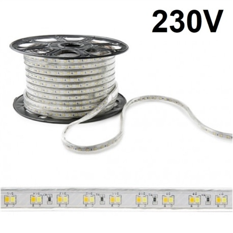 FITA LED 230V 14.4W/M 3000K IP67 1000LM/MT - 55/5050-60/3K-IP67