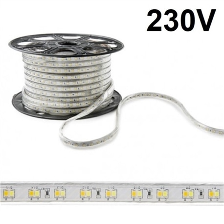 FITA LED 230V 14.4W/M 6400K IP67 1000LM/MT - 55/5050-60/6K-IP67