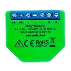 Mód. Control. dimmer intelig. Wifi iluminaçao SHELLY Dimmer2 - SHELLYDIMMER2