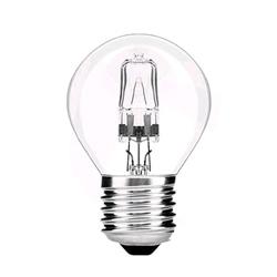 LAMPADA LUSTRE HALOGÉNEO P45 E27 28W AVIDE 280430 - 890280430