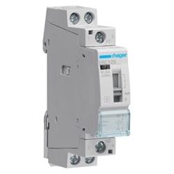 Contactor com manu 25A, 1NA, 230V ERC125 - ERC125