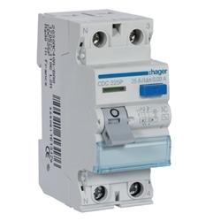 Inter. dif. 2P 25A 30mA tipo AC 2M CDC225P - CDC225P