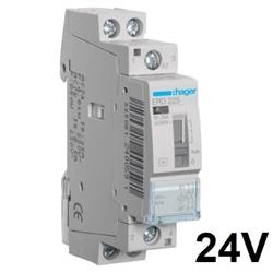 Contactor c/cmdo manual 25A, 2NA, 24V 1M ERD225 - ERD225