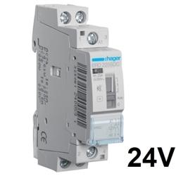 Contactor silenci Manu, 25A, 2NA, 24V DC ERD225SDC - ERD225SDC