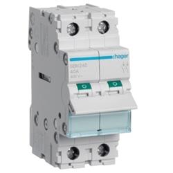 Interruptor Modular 2P 40A SBN240 - SBN240