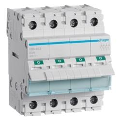 Interruptor Modular 4P 63A SBN463 - SBN463
