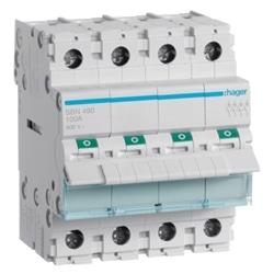 Interruptor Modular 4P 100A SBN490 - SBN490