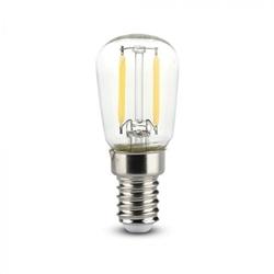 LAMPADA LED FILAMENTO E14 2W 2700K 180Lm 26x58 V-TAC 4444 - 8954444