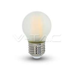 LAMPADA LED G45 FOSCA E27 4W 400Lm 2700K FILAM. V-TAC 4495 - 8954495