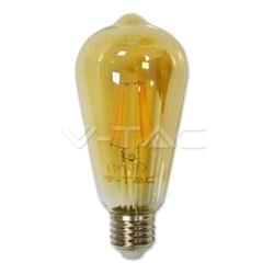 Lamp/ST64/Ambar/E27/4w/40W/350Lm/2200K/V-TAC-4361 - 8954361