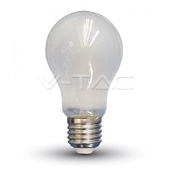 LAMPADA LED E27 A60 4W 6000K FOSCA VIDRO V-TAC 4488 - 8954488