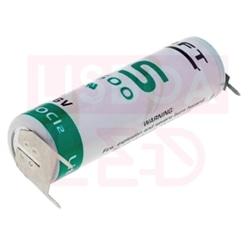 Pilha Litio Li-SOCl2 AA 3.6V Saft LS14500PFR - 122-0418