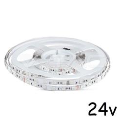 Fita LED IP20 5050-60 9W 24V 3000K V-TAC 2431 - 8952431