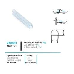 VEDANTE P/ VIDRO/PVC 8/10MM - 708VD0001