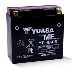 BATERIA MOTO YUASA YT14B-4 BS 150x70x145mm - MOTYT14B4BS