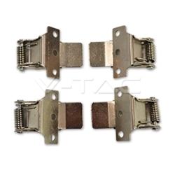 KIT 4 GARRAS FIXAÇÃO P/ PAINEL LED P/ TECTO FALSO V-TAC 9931 - 8959931