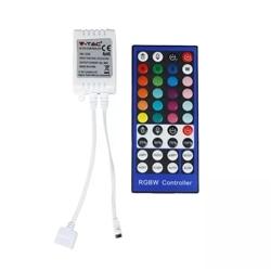 CONTROLADOR P/ FITA LED RGB+W 12VDC V-TAC 3326 - 8953326